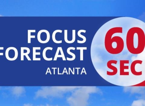 News video: Atlanta's 60 Second Forecast