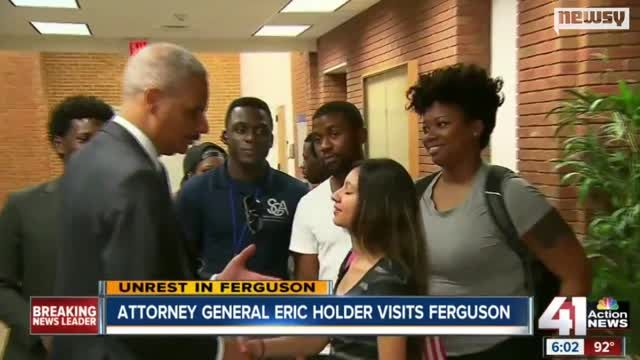 News video: What Can Eric Holder Really Do In Ferguson?